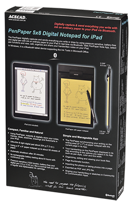 PenPaper 5x8 Digital Notepad for iPad